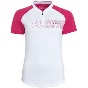 VAUDE Ligure III Maglietta Donna, bianco/rosa